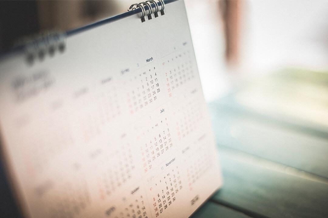 Aktuelle datoer og frister